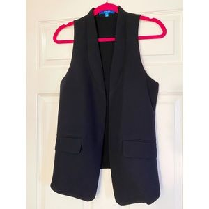 Derek Lam for Design Nation Black Blazer Vest